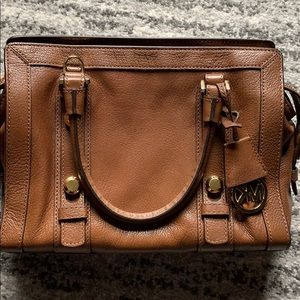 Michael Kord Collins Stud Medium Satchel